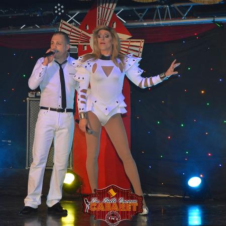 Miss Caline et Tony Parkan à La Belle Epoque
