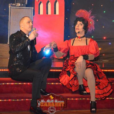 Miss Caline et Tony Parkan au cabaret